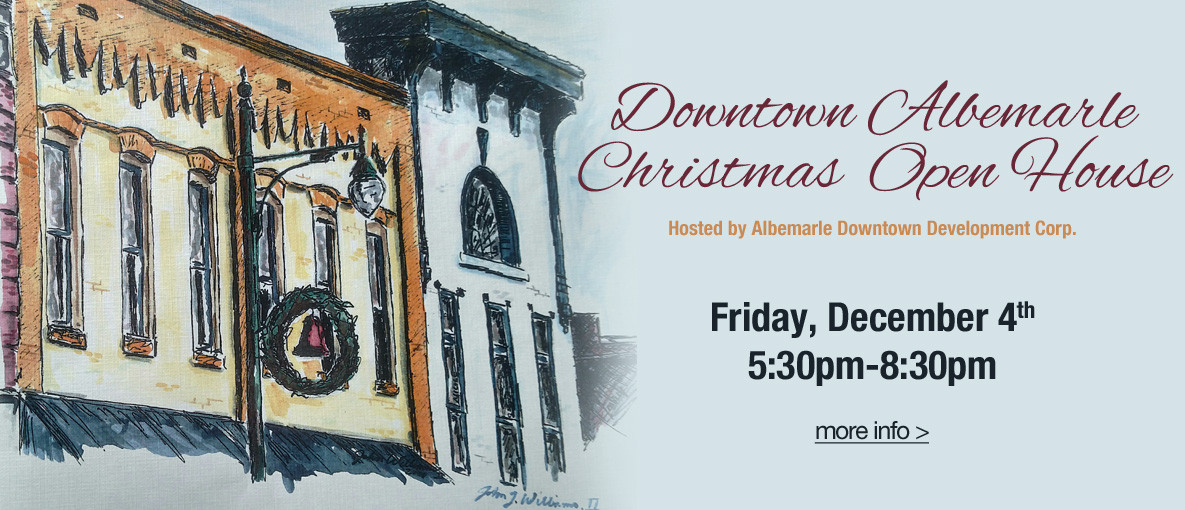 Downtown Christmas Open House