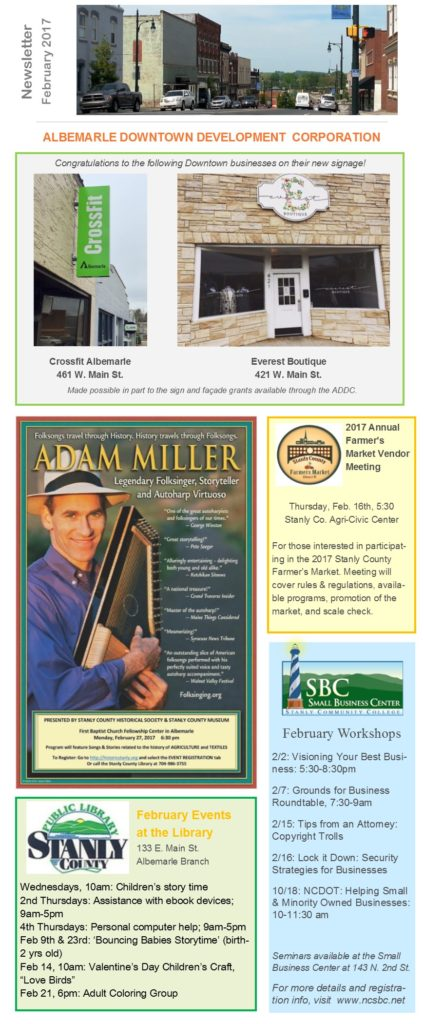 Feb Newsletter p1
